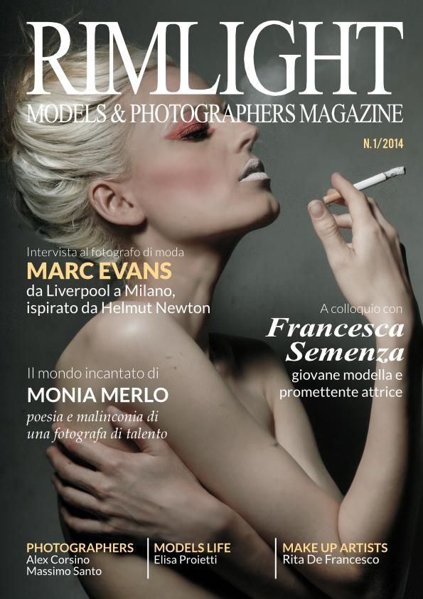 Rimlight Magazine - New Magazine showcasing Models, Photographers, Stylists + Make-up Artists, get published : http://journal.fashionspyder.com/rimlight-magazine-launch/