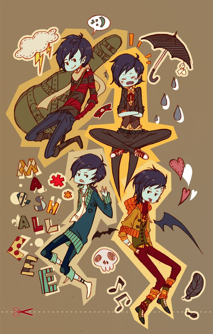 [Fashion Time] Marshall Lee by anesthessiac.deviantart.com on @deviantART
