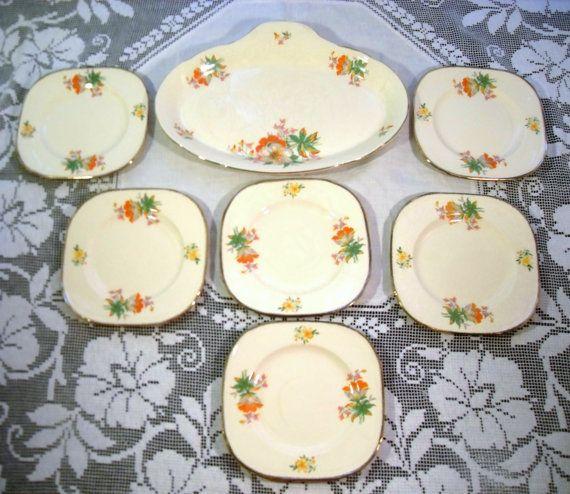 Vintage Alfred Meakin Serving Platter And by ThatsSoVintageDarlin