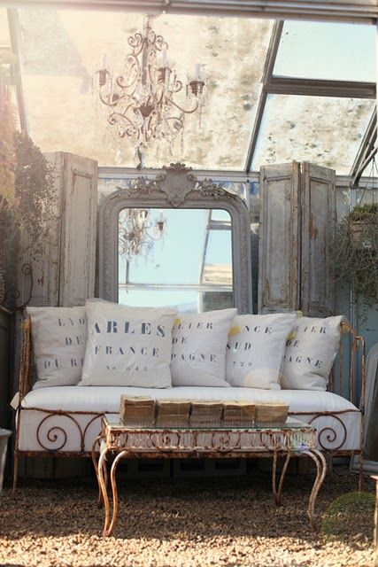 french: Home Interiors, Outdoor Rooms, Shabby Chic, Interiors Design, French Country, House, Outdoor Spaces, Modern Interiors, Design Home