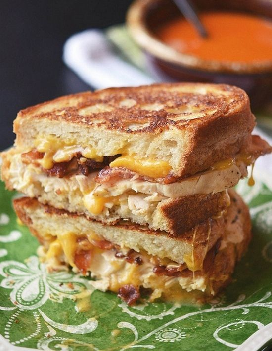 Chicken Bacon Ranch Grilled Cheese. This sandwich is AAAMAAZZZING.