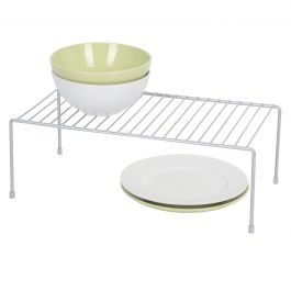Silver 5x16 Inch Wire Helper Shelf
