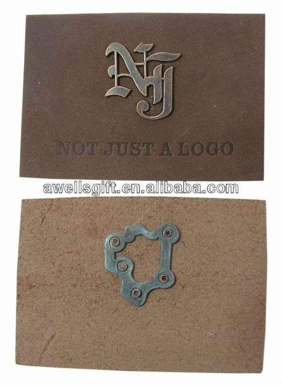 Etiqueta de couro com emblema do metal-imagem-Etiquetas de tecido para roupas-ID do produto:712592150-portuguese.alibaba.com