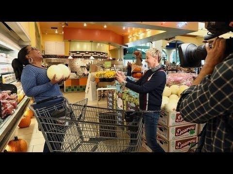 This Clip of Oprah Winfrey & Ellen DeGeneres Grocery Shopping is so Hilarious