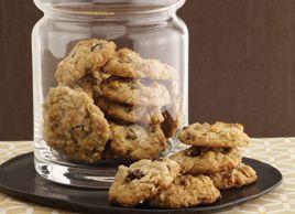 Biscuits avoine et raisins secs   Recettes   Mon assiette   Plaisirs Santé