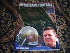 2005 NOTRE DAME FOOTBALL MEDIA GUIDE CHARLIE WEIS DEBUT BRADY QUINN ++++++ - ++++++, 2005, BRADY, Charlie, Dame, DEBUT, FOOTBALL, Guide, Media, Notre, Quinn, Weis