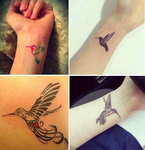 Small Hummingbird Tattoo Designs