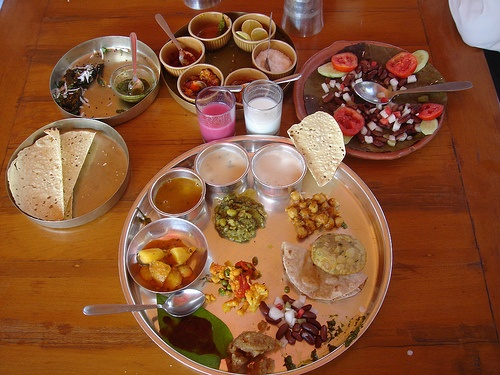 Gujarati food. All I want right now.