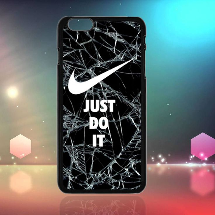 Nike Just Do It Cracked Glasses Print Case - iPhone 6s Plus #UnbrandedGeneric