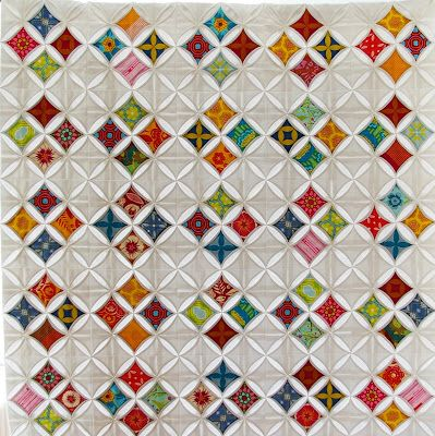 The 25+ best Cathedral window quilts ideas on Pinterest ... : cathedral window quilting - Adamdwight.com
