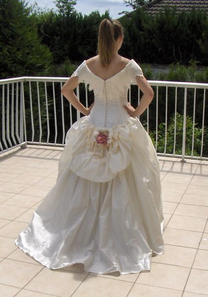 Robe de mariée cymbeline Paris en soie sauvage doccasion  Robes de ...