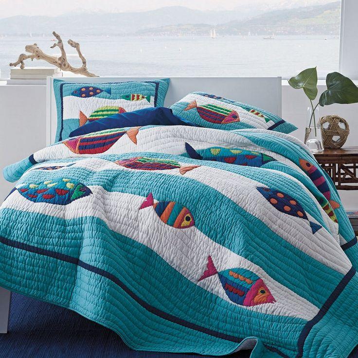 Oceana Quilt Sham A Lighthearted Quilt For Beach House