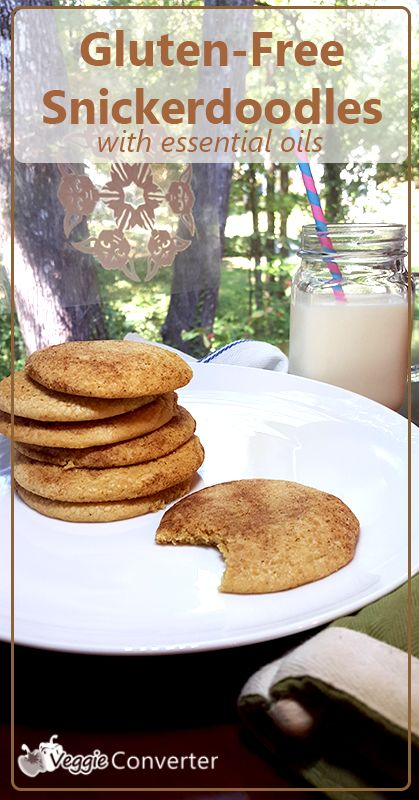 Gluten-Free Snickerdoodles with Essential Oils | Recipe | Gluten ...