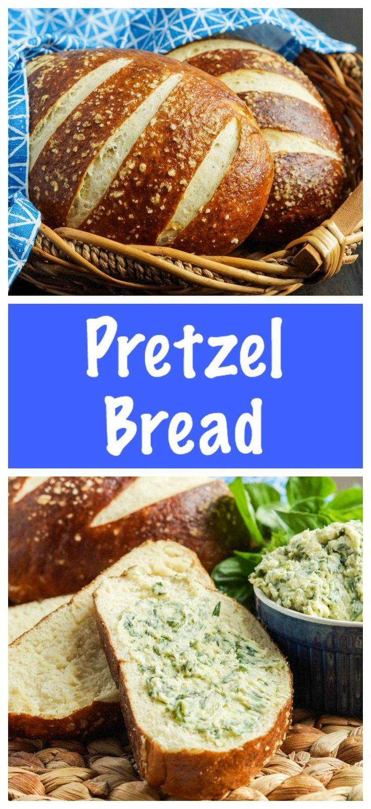 A week of Oktoberfest-style food wouldn't be complete without a pretzel recipe. This Pretzel Bread is a great way to get the soft pretzel taste without twisting and boiling multiple pretzels.…