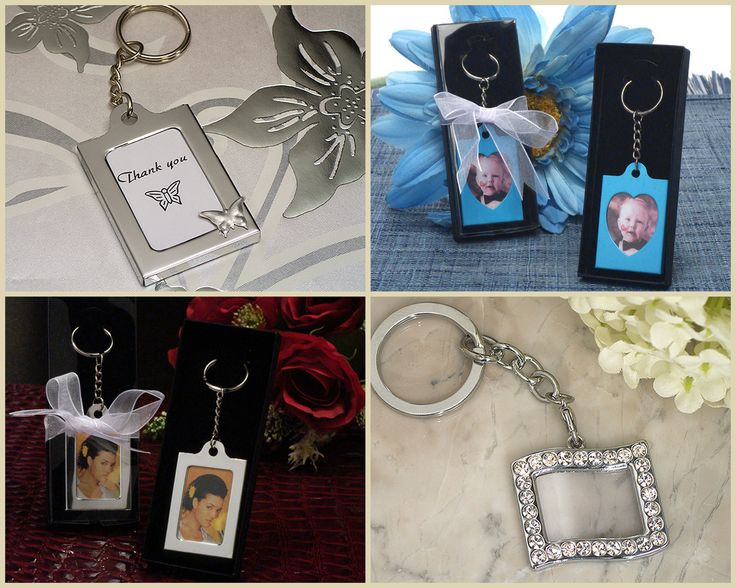 Photo Frame Keychain favors from HotRef.com