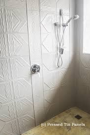 pressed tin panels in bathroom - Google Search