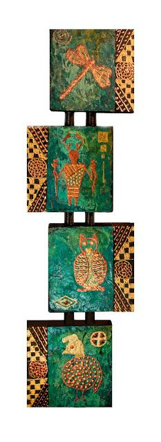 Mixed Media Artists International: Contemporary Mixed Media Art, Quadruvium Painting ...
