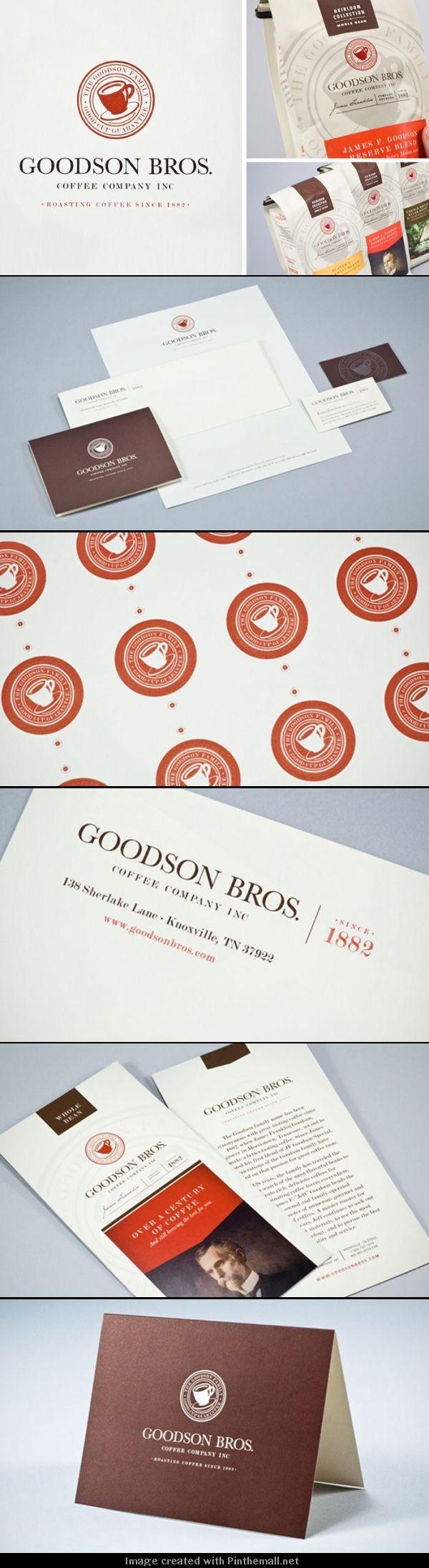 identity / Goodson Bros. Coffee Company Inc.