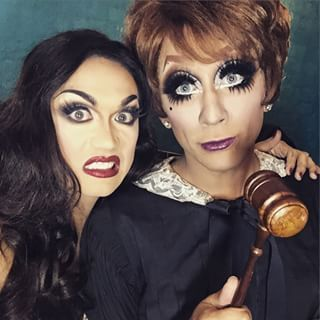 "When Bianca Del Rio found Manila Luzon guilty of being sickening. | 29 Times The Queens Of ""RuPaul's Drag Race"" Redefined Squad Goals"
