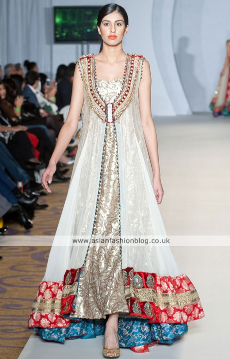 Asian Fashion Blog: Zeeshan Bariwala at London's Pakistan Fashion Week 3