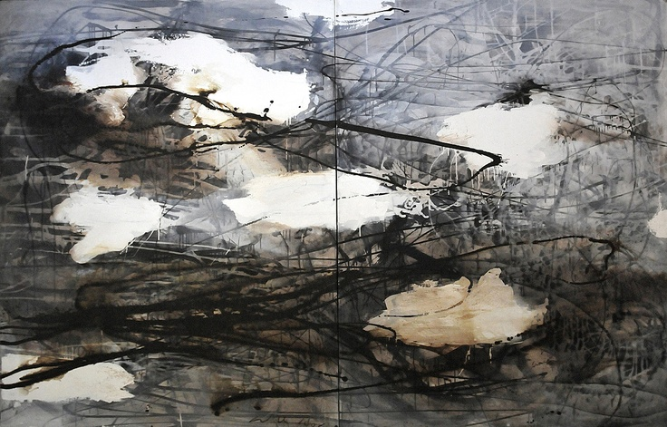 U. Wilk_work on canvas_200cmx320cm