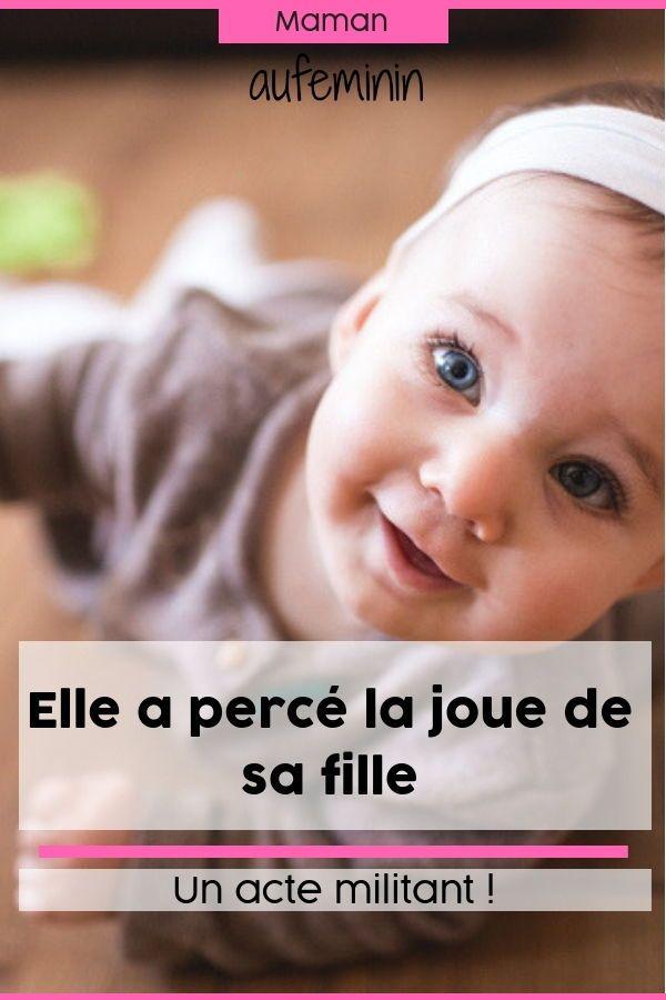498977511e10 Etats-Unis  cette photo de bébé percé à la joue fait scandale ...