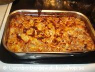 Recept: Pastagratäng med kassler