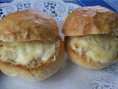 Sült töltött zsemle - Andi konyhája - Sütemény és ételreceptek képekkel