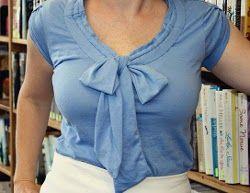 Emma Pillsbury T-Shirt Refashion