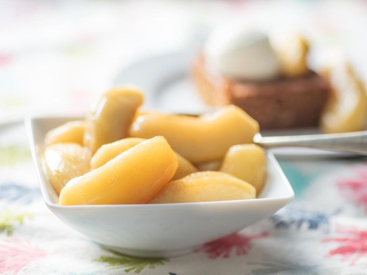 Apple Compote | An old-fashioned apple compote makes an elegant dish on its own, or a perfect accompaniment to other desserts, whether it's Passover or not. #passover #passoverdesserts #passoverrecipes #applecompote #dessertrecipes