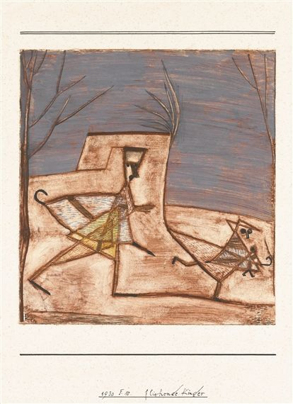 Paul Klee, FLIEHENDE KINDER (CHILDREN FLEEING)