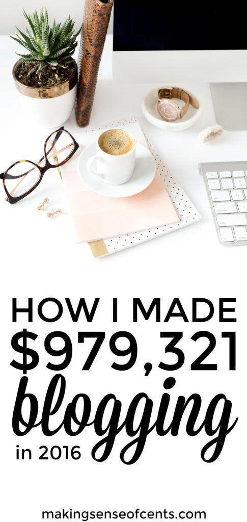 Here's how Michelle made $979,321 in 2016, as well as her December blog income report. 2016 was a great year! - made a great income and learned a lot too. #incomereport #howtostartablog