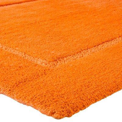 Botanic Fiber Bath Rug Orange Truffle (24x54)   Threshold