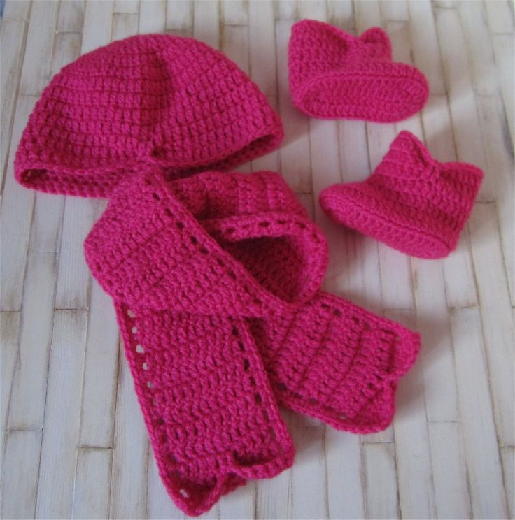 9- Fiche patron Ensemble Macha : Bonnet, écharpe et chaussons au crochet : Tutoriels de fabrication par atelier-crochet