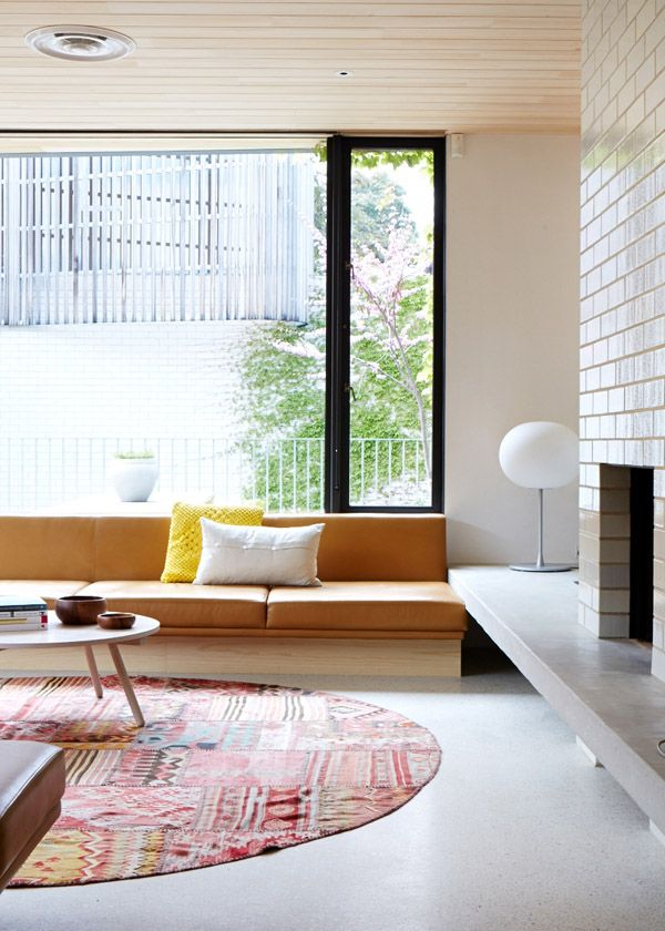Home of architect Clare Cousins. Photography by Sean Fennessy. Production by Lucy Feagins. Via @Matty Chuah Design Files