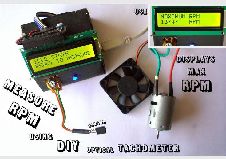 Measure Rpm Optical Tachometer Arduino Amp Raspberry Pi