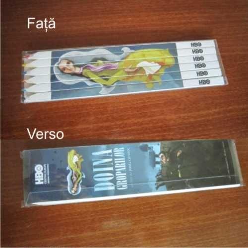 Creion Paris,6 buc. in set pentru a crea fondul unei povesti. Inscriptionare Fotocolor, fata verso www.atip.ro