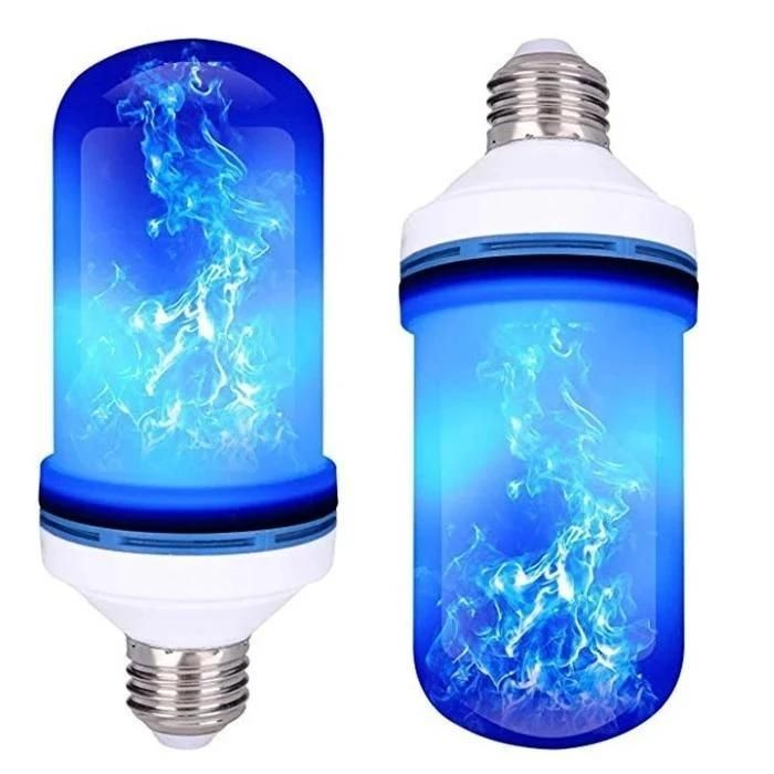 Halloween Led Gravity Effect Fire Light Bulbs Light Bulb Bulb Mood Lamps