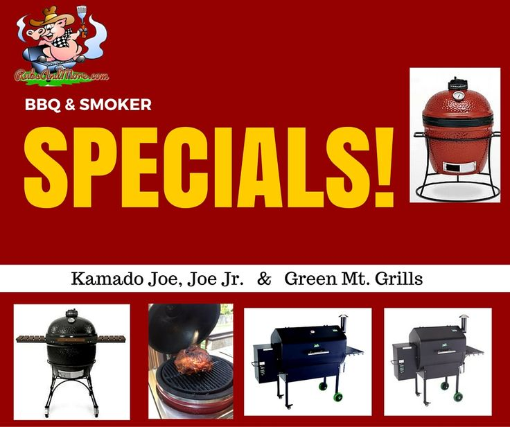 Get a jump start on your Fall Grilling & SAVE with our BBQ SALE! Come on over & check out some of the great DEALS we've got going on! Our Kamado Joe, Joe Jr. & all of our Green Mt. Grills are just waiting for you! #sale #rubsandmore