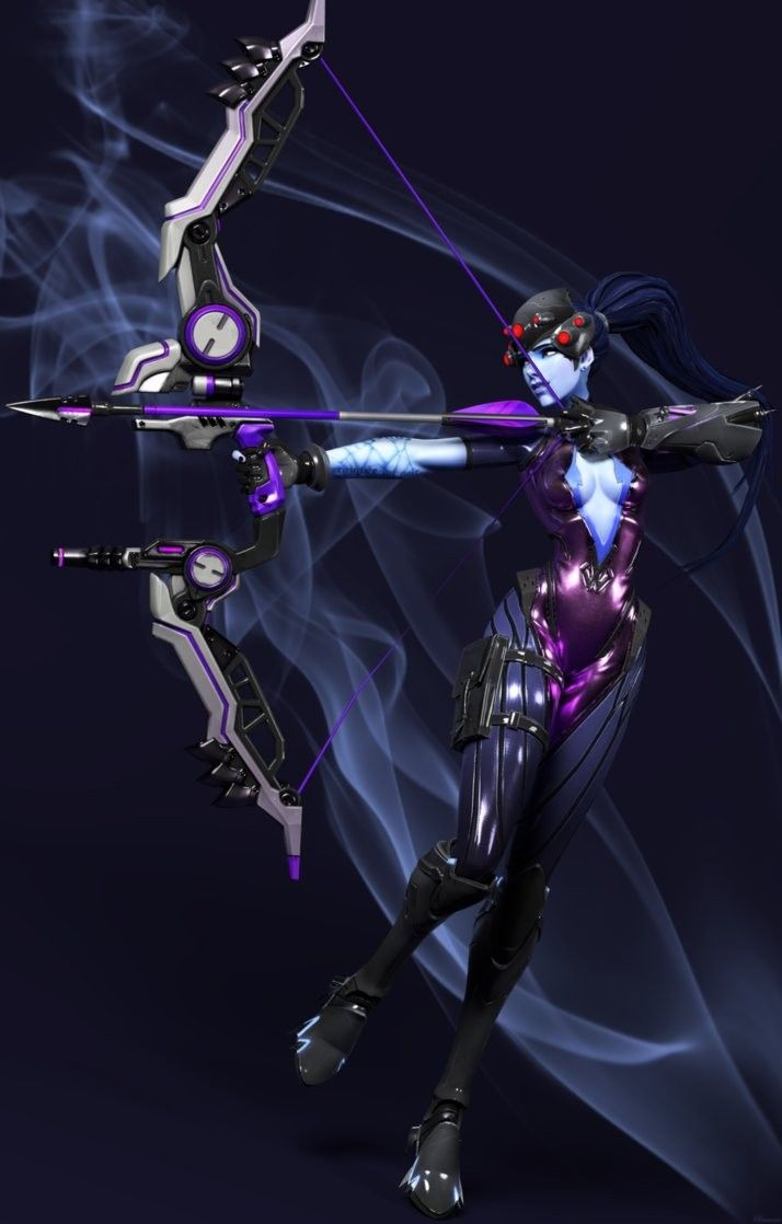 Widow now has a bow? Hanzo has now added her to his kill list