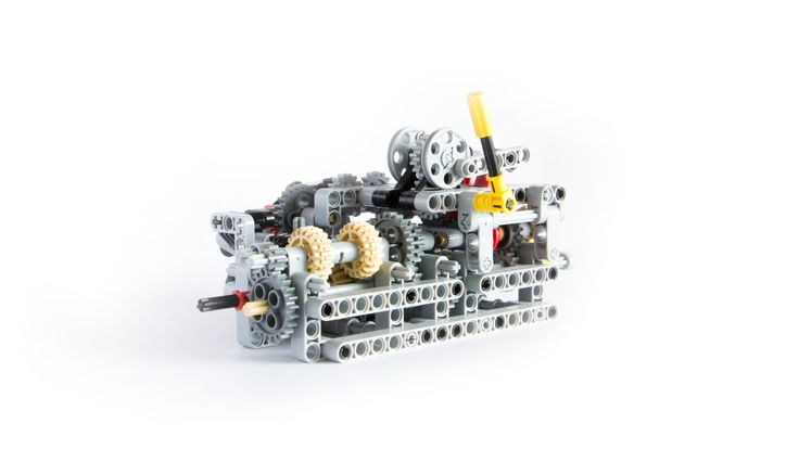 Building instructions available here (LDD file) : https://rebrickable.com/mocs/Charbel/lego-technic-8-speed-sequential-gearbox More at http://charbellego.fre...