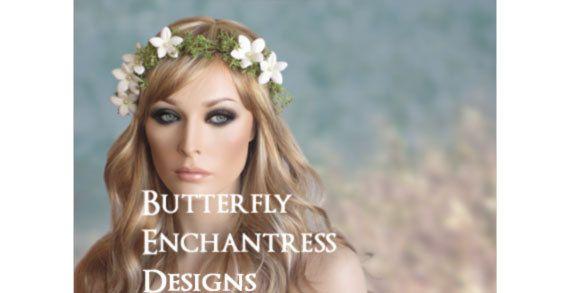 Bohemian Floral Bridal Halo Wedding Flower by ButterflyEnchantress, $89.99