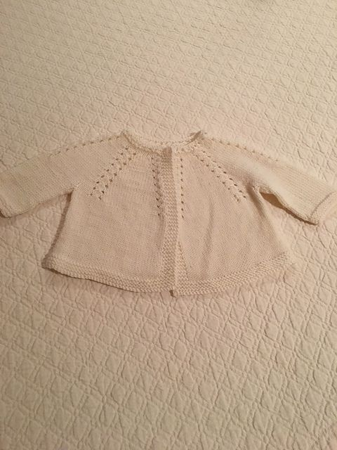 Ravelry: MBMKnits' Cardigan for baby