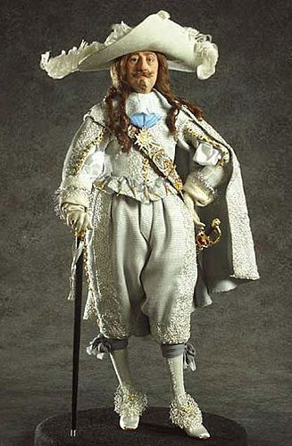 Luis XIII of France Doll: Photo by By golondrina411 on Flickr    Photo courtesy of the Gallery of Historical figures (http://www.galleryofhistoricalfigures)