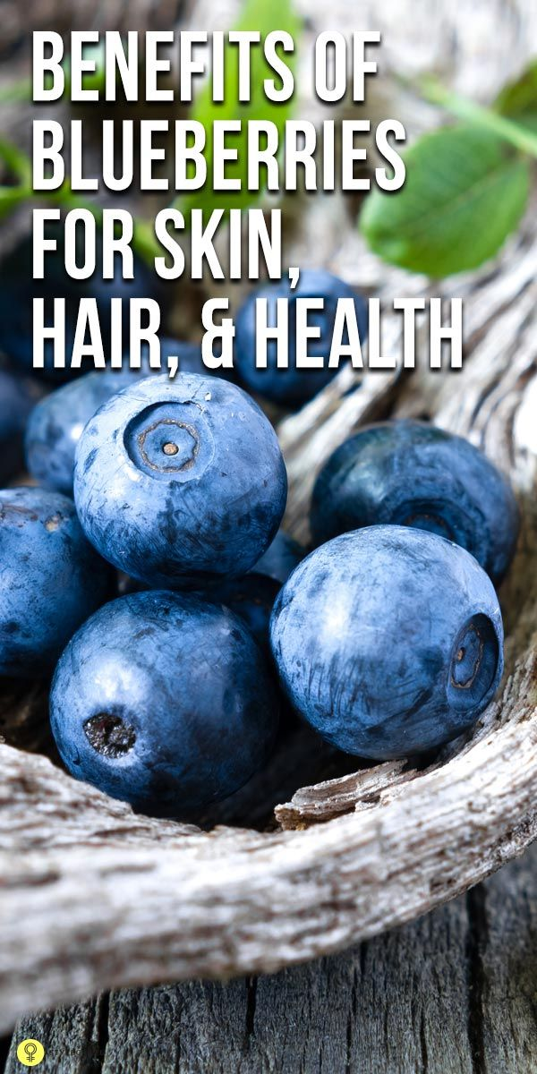 The delicious fruit blueberry is amazingly known for its benefits. Here is the list of the top 10 blueberry benefits for skin, hair & health for you to ...