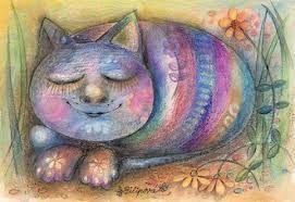 Výsledek obrázku pro kočka kresba