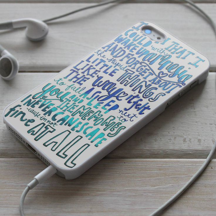 Shadeyou Phone Cases - 5SOS Amnesia Lyrics - iPhone 4/4S, iPhone 5/5S/5C, iPhone 6 Case, Samsung Galaxy S4/S5 Cases, $19 (http://www.shadeyou.com/5sos-amnesia-lyrics-iphone-4-4s-iphone-5-5s-5c-iphone-