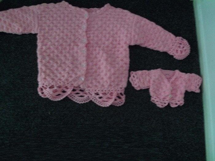 Vest voor kind en pop