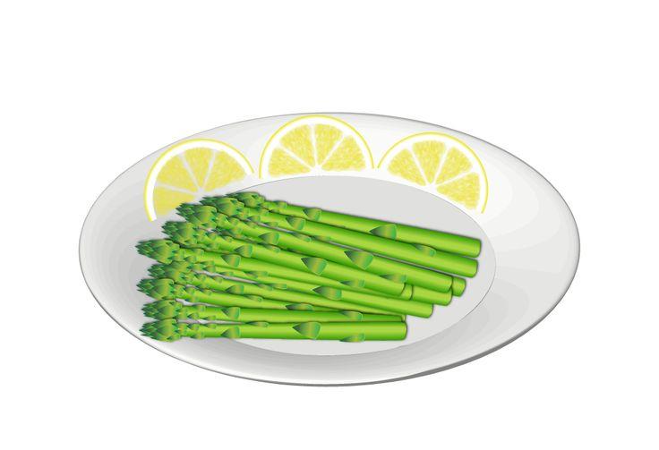 Asparagi al limone con salsa alla senape