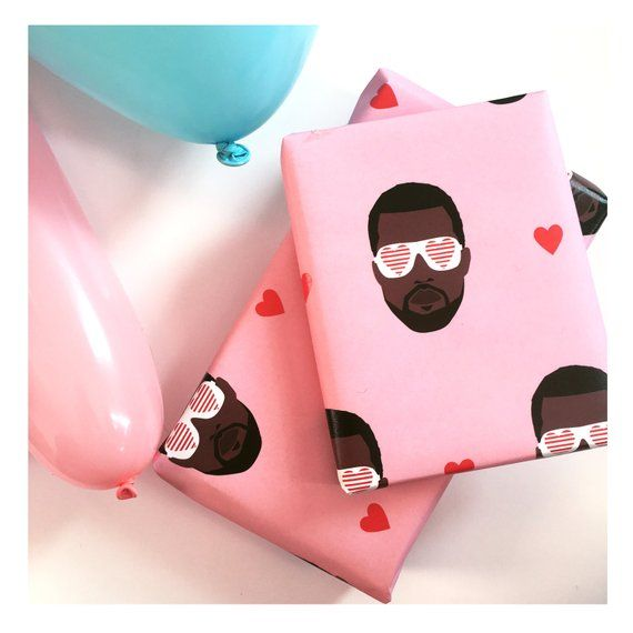 Kanye West Wrapping Paper - Hip Hop themed wrapping paper ...
